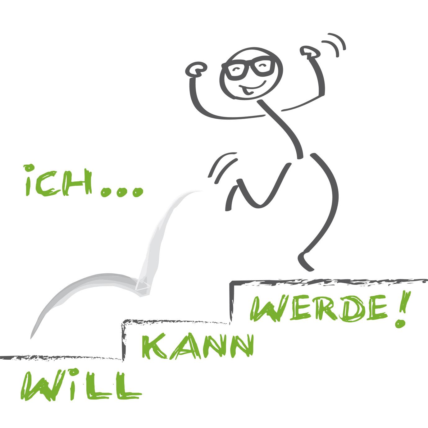 ich will, ich kann ich werde - motivation | #66054977 | Urheber: Trueffelpix - Fotolia.de